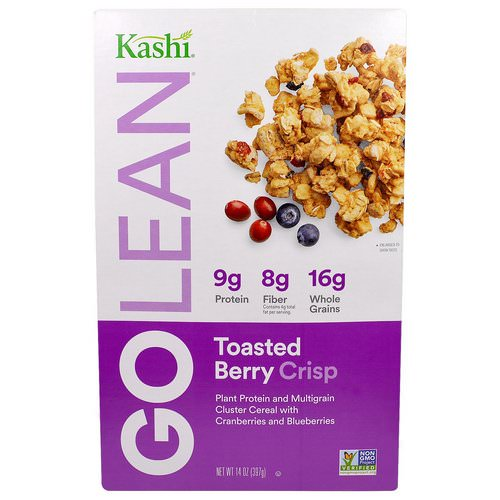 Kashi, GoLean, Toasted Berry Crisp Cereal, 14 oz (397 g) Review