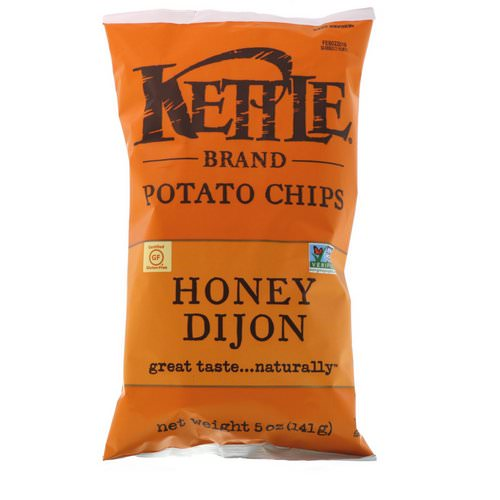 Kettle Foods, Potato Chips, Honey Dijon, 5 oz (141 g) Review