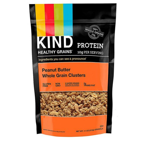 KIND Bars, Healthy Grains, Peanut Butter Whole Grain Clusters, 11 oz (312 g) Review