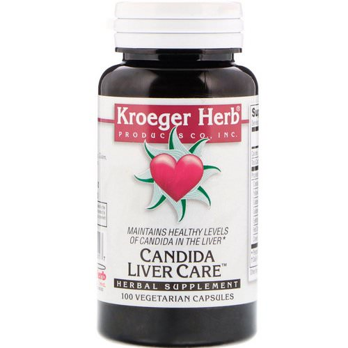 Kroeger Herb Co, Candida Liver Care, 100 Vegetarian Capsules Review