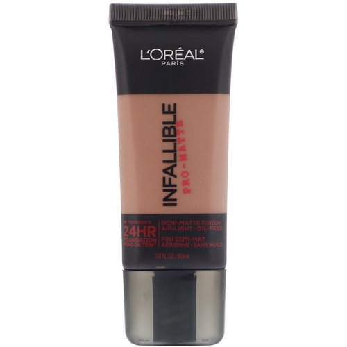 L'Oreal, Infallible Pro-Matte Foundation, 112 Cocoa, 1 fl oz (30 ml) Review
