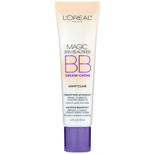L'Oreal, Magic Skin Beautifier, BB Cream, 812 Light, 1 fl oz (30 ml) Review