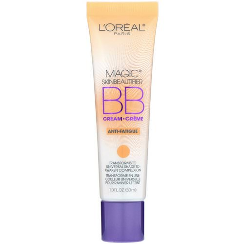 L'Oreal, Magic Skin Beautifier, BB Cream, 818 Anti-Fatigue, 1 fl oz (30 ml) Review