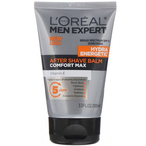 L'Oreal, Men Expert, After Shave Balm, Comfort Max, 3.3 fl oz (100 ml) Review