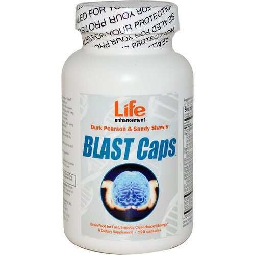 Life Enhancement, Blast Caps, 120 Capsules Review