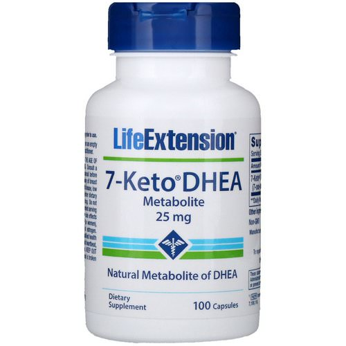 Life Extension, 7-Keto DHEA, Metabolite, 25 mg, 100 Capsules Review