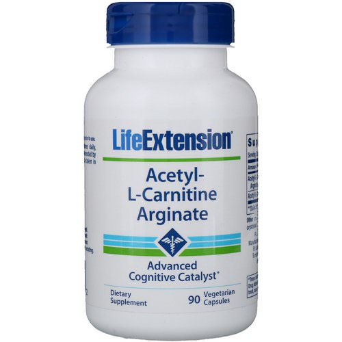 Life Extension, Acetyl-L-Carnitine Arginate, 90 Vegetarian Capsules Review