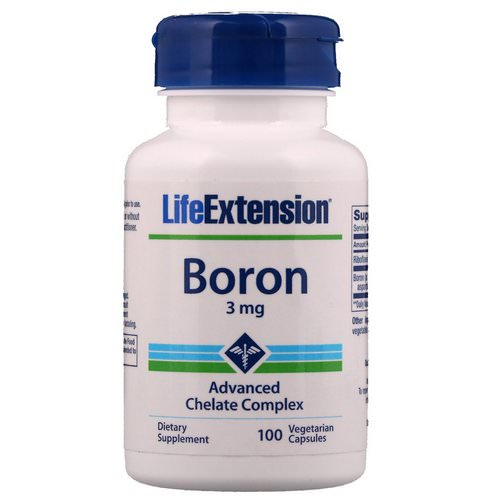 Life Extension, Boron, 3 mg, 100 Vegetarian Capsules Review