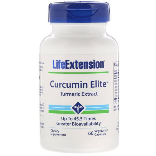 Life Extension, Curcumin Elite Turmeric Extract, 60 Vegetarian Capsules Review