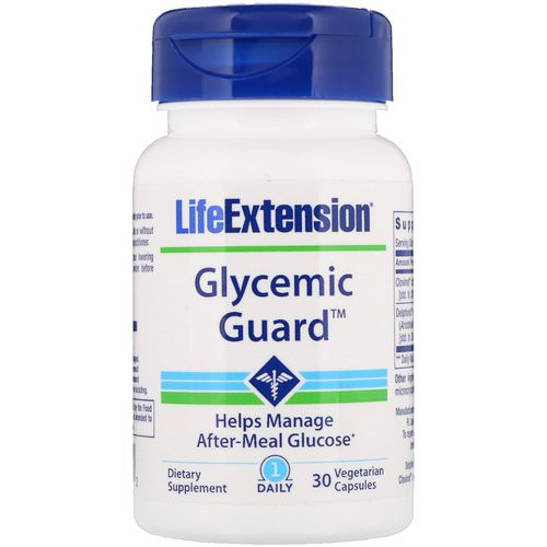 Life Extension, Glycemic Guard, 30 Vegetarian Capsules Review