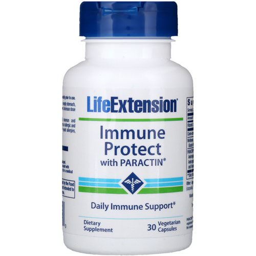 Life Extension, Immune Protect with Paractin, 30 Vegetarian Capsules Review