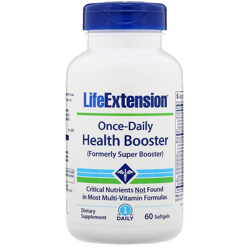 Life Extension, Once-Daily Health Booster, 60 Softgels Review