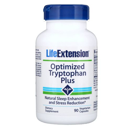Life Extension, Optimized Tryptophan Plus, 90 Vegetarian Capsules Review