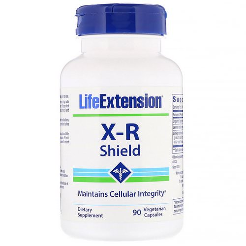 Life Extension, X-R Shield, 90 Vegetarian Capsules Review