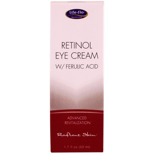 Life-flo, Retinol Eye Cream with Ferulic Acid, 1.7 fl oz (50 ml) Review