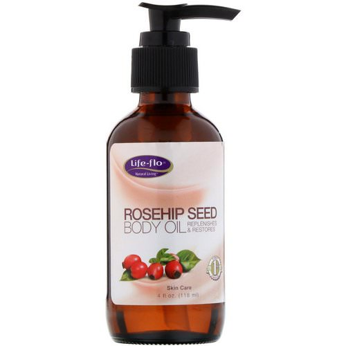 Life-flo, Rosehip Seed Body Oil, Skin Care, 4 fl oz (118 ml) Review