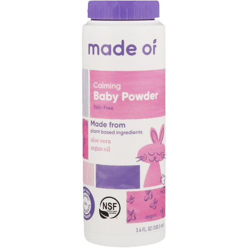 MADE OF, Calming Baby Powder, 3.4 fl oz (100.5 ml) Review
