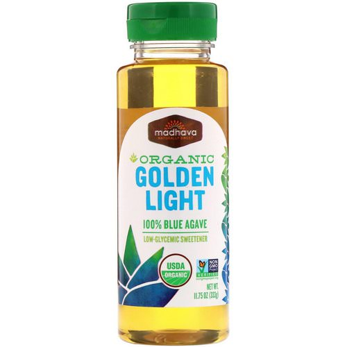 Madhava Natural Sweeteners, Organic Golden Light 100% Blue Agave, 11.75 oz (333 g) Review