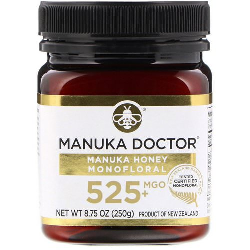 Manuka Doctor, Manuka Honey Monofloral, MGO 525+, 8.75 oz (250 g) Review