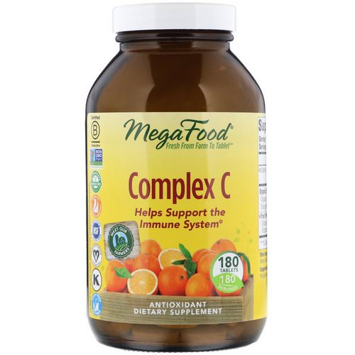 MegaFood, Complex C, 180 Tablets Review