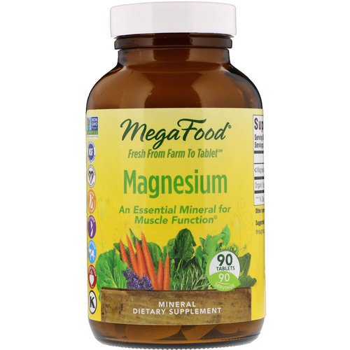 MegaFood, Magnesium, 90 Tablets Review