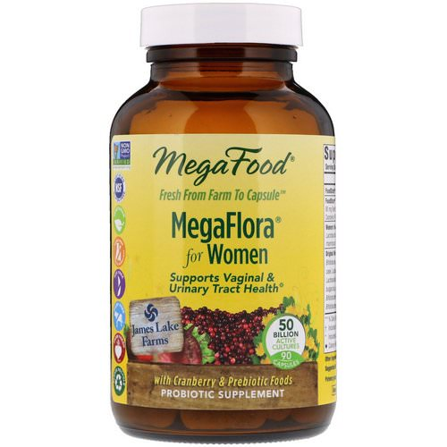 MegaFood, MegaFlora for Women, 90 Capsules (Ice) Review