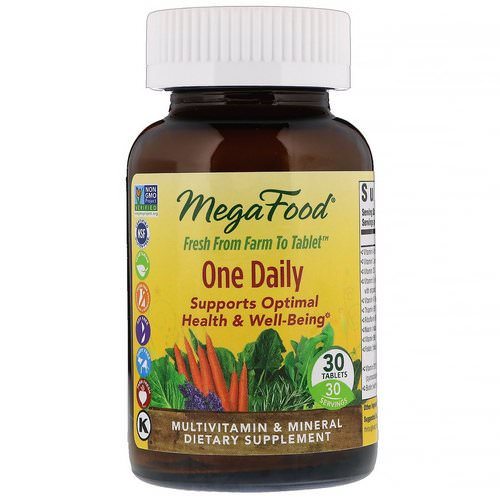 MegaFood, One Daily, 30 Tablets Review