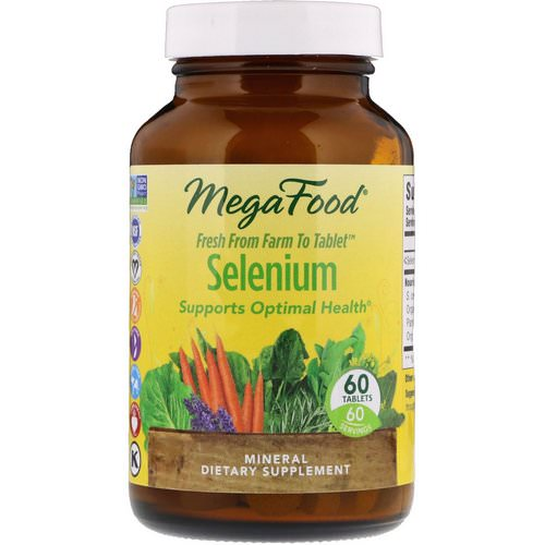 MegaFood, Selenium, 60 Tablets Review