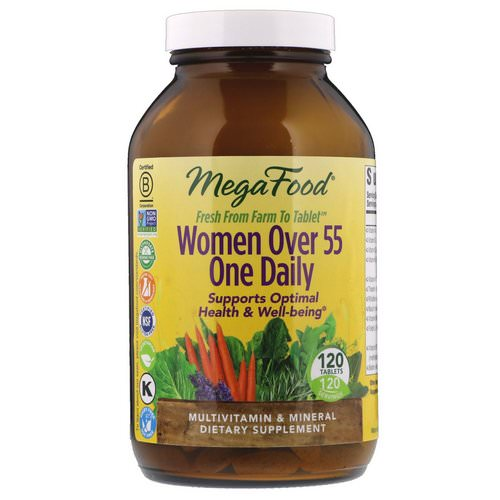 MegaFood, Women Over 55 One Daily, 120 Tablets Review