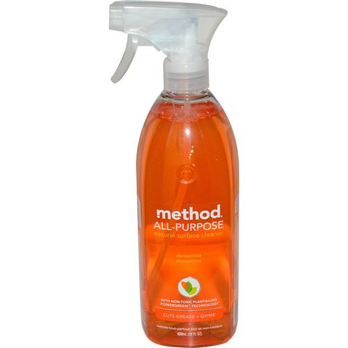 Method, All-Purpose Natural Surface Cleaner, Clementine, 28 fl oz (828 ml) Review