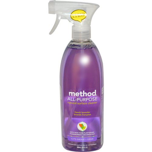 Method, All-Purpose Natural Surface Cleaner, French Lavender, 28 fl oz (828 ml) Review