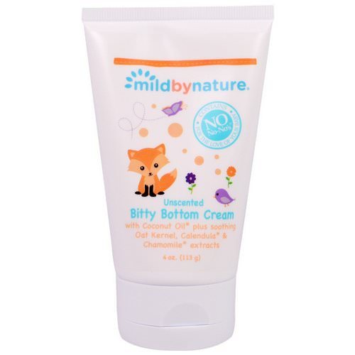 Mild By Nature, Bitty Bottom Cream, Unscented, 4 oz (113 g) Review