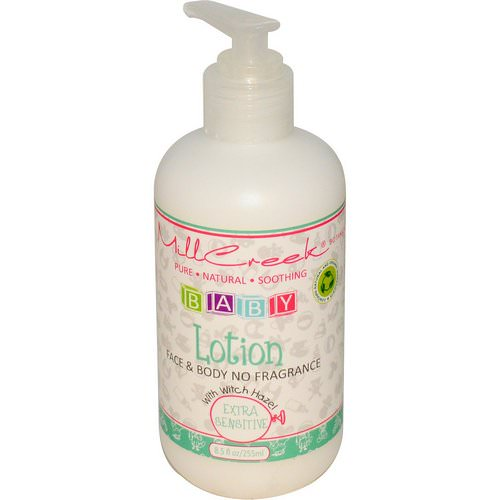 Mill Creek Botanicals, Baby Lotion with Witch Hazel, Extra Sensitive, 8.5 fl oz (255 ml) Review
