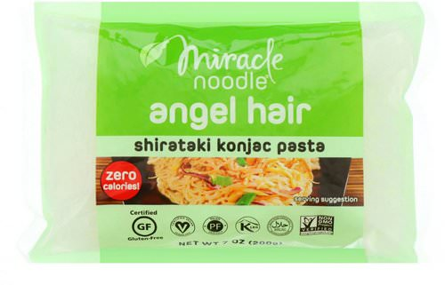 Miracle Noodle, Angel Hair, Shirataki Konjac Pasta, 7 oz (200 g) Review