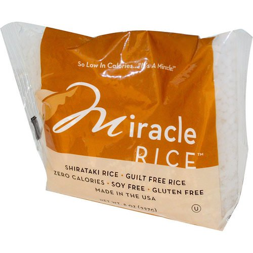 Miracle Noodle, Miracle Rice, 8 oz (227 g) Review