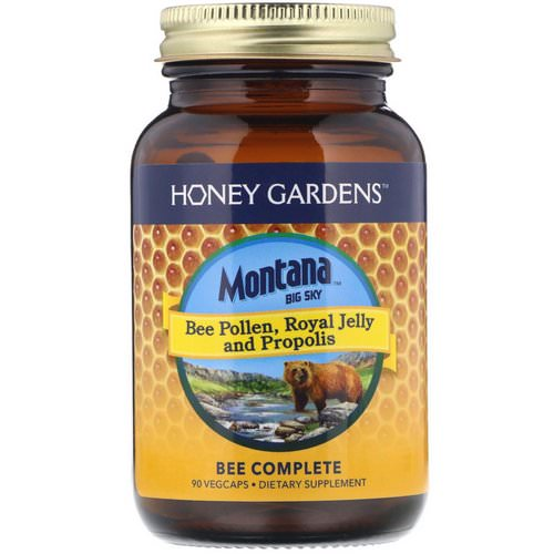 Montana Big Sky, Bee Pollen, Royal Jelly and Propolis, 90 Vegcaps Review