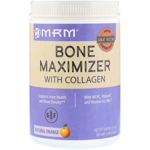 MRM, Bone Maximizer with Collagen, Natural Orange, 0.69 lb (315 g) Review