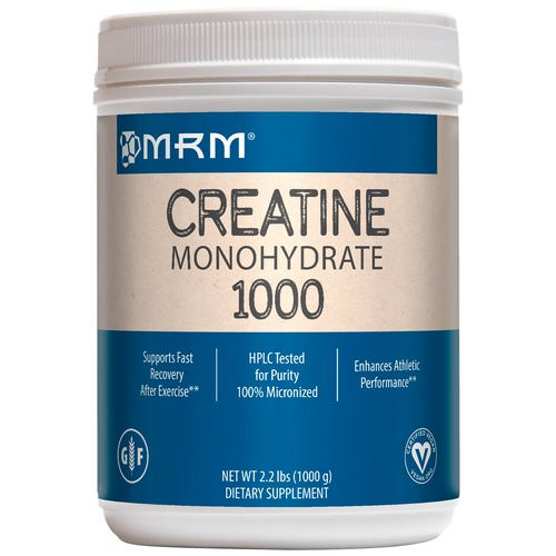 MRM, Creatine Monohydrate 1000, 2.2 lbs (1000 g) Review