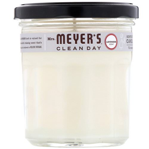 Mrs. Meyers Clean Day, Scented Soy Candle, Lavender Scent, 7.2 oz Review