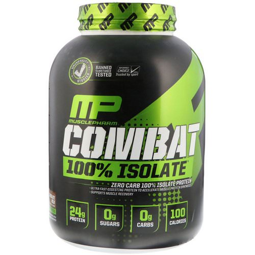 MusclePharm, Combat 100% Isolate, Chocolate Milk, 5 lb (2268 g) Review