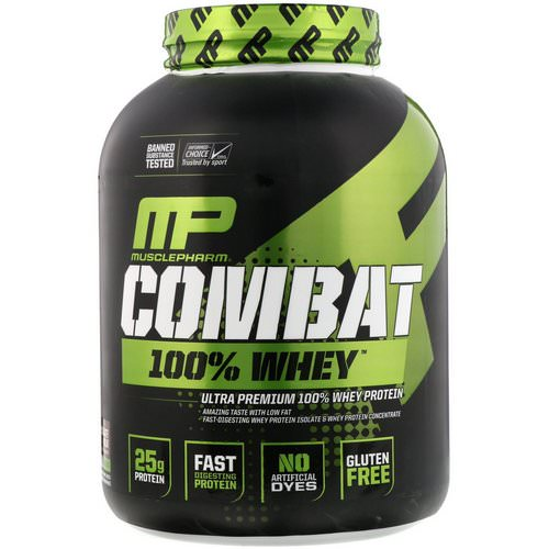 MusclePharm, Combat 100% Whey Protein, Chocolate Milk, 5 lbs (2269 g) Review
