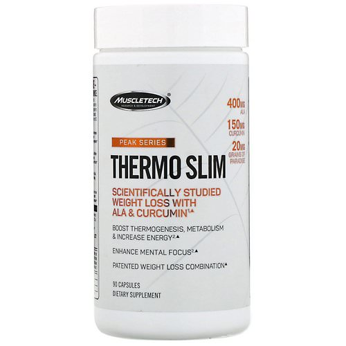 Muscletech, Peak Series, Thermo Slim, 90 Capsules Review