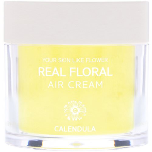 Nacific, Real Floral Cream, Calendula, 3.38 fl oz (100 ml) Review