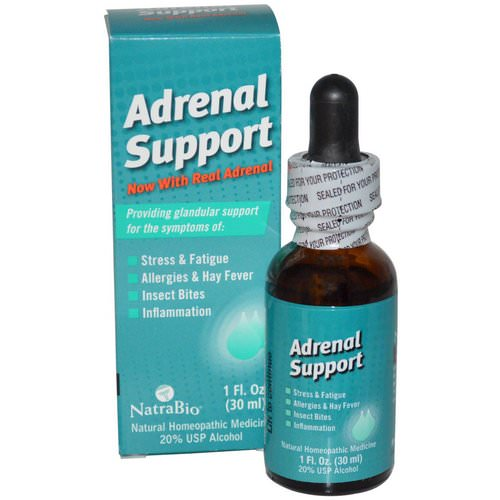 NatraBio, Adrenal Support, 1 fl oz (30 ml) Review