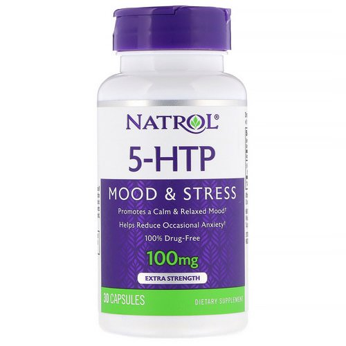 Natrol, 5-HTP, Extra Strength, 100 mg, 30 Capsules Review
