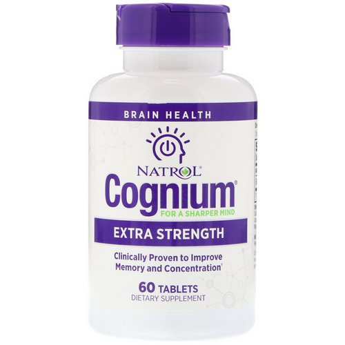 Natrol, Cognium, Extra Strength, 200 mg, 60 Tablets Review