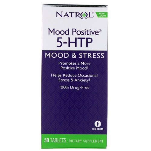 Natrol, Mood Positive 5-HTP, 50 Tablets Review