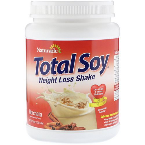 Naturade, Total Soy, Weight Loss Shake, Horchata, 1.2 lbs (540 g) Review