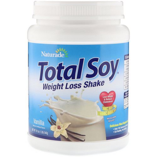Naturade, Total Soy, Weight Loss Shake, Vanilla, 1.2 lbs (540 g) Review