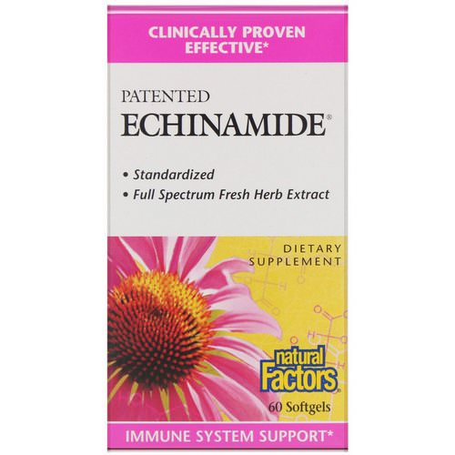 Natural Factors, Patented Echinamide, 60 Softgels Review